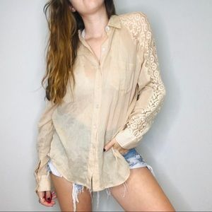 Anthropologie Holding Horses Womens Top S